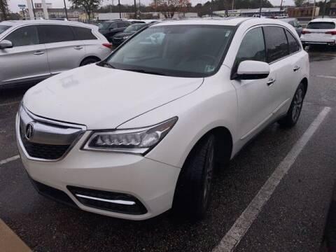 2014 Acura MDX for sale at JOE BULLARD USED CARS in Mobile AL