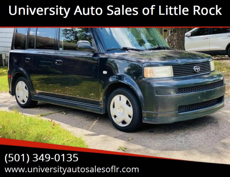 2005 Scion xB for sale at University Auto Sales of Little Rock in Little Rock AR