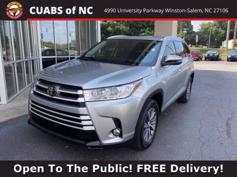 2019 Toyota Highlander for sale at Credit Union Auto Buying Service in Winston Salem NC