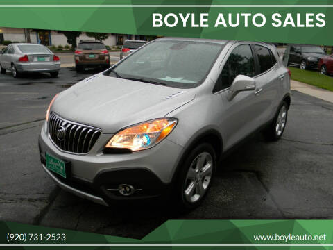 2015 Buick Encore for sale at Boyle Auto Sales in Appleton WI