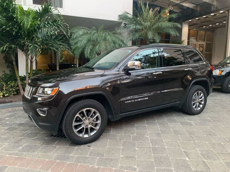 2016 Jeep Grand Cherokee for sale at Premier Auto Group of South Florida in Wellington FL