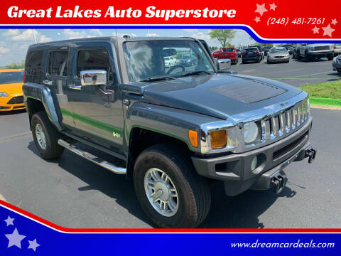 2006 HUMMER H3 for sale at Great Lakes Auto Superstore in Waterford Township MI
