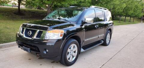 2012 Nissan Armada for sale at Western Star Auto Sales in Chicago IL