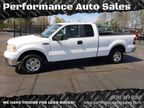 2007 Ford F-150 for sale at Performance Auto Sales in Hickory NC