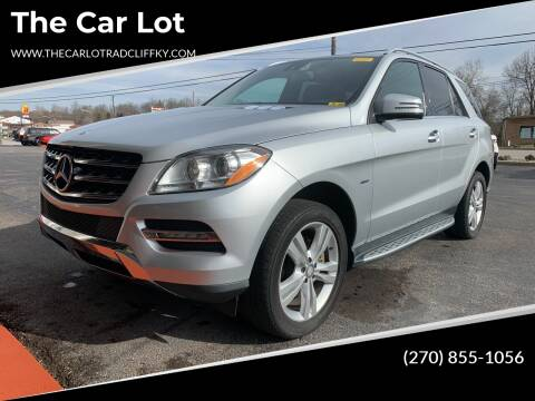 2012 Mercedes-Benz M-Class for sale at The Car Lot in Radcliff KY