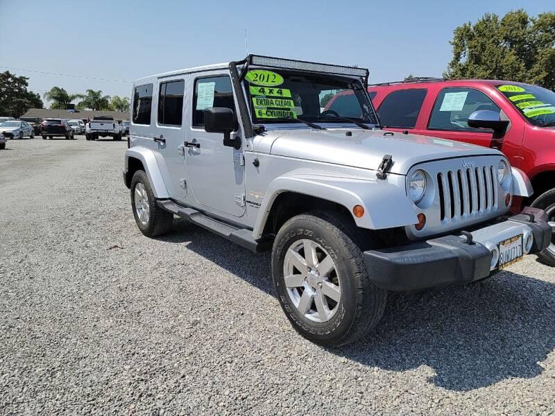 2012 Jeep Wrangler Unlimited for sale at La Playita Auto Sales Tulare in Tulare CA