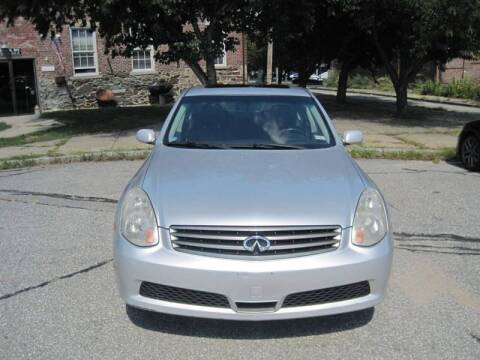 2006 Infiniti G35 for sale at EBN Auto Sales in Lowell MA