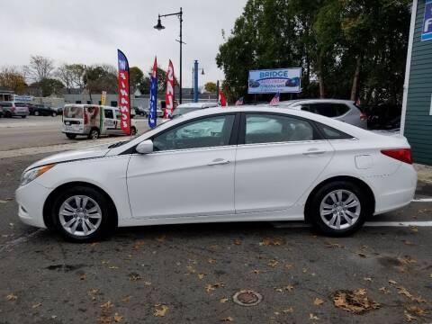 2013 Hyundai Sonata for sale at Bridge Auto Group Corp in Salem MA