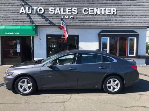 2017 Chevrolet Malibu for sale at Auto Sales Center Inc in Holyoke MA