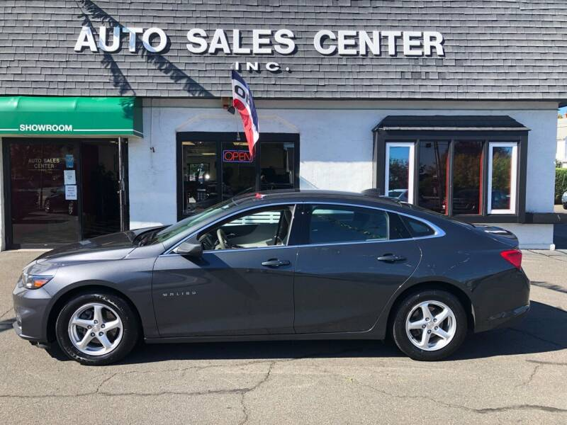 2017 Chevrolet Malibu for sale at Auto Sales Center Inc in Holyoke MA