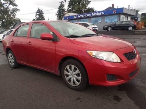 2010 Toyota Corolla for sale at All American Motors in Tacoma WA