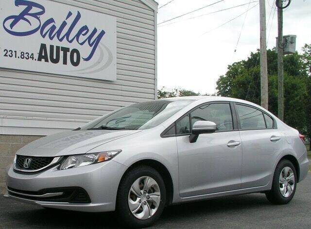 2014 Honda Civic for sale at Bailey Auto LLC in Bailey MI