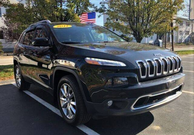 2017 Jeep Cherokee for sale at Ataboys Auto Sales in Manchester NH
