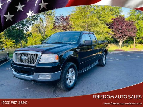 2004 Ford F-150 for sale at Freedom Auto Sales in Chantilly VA