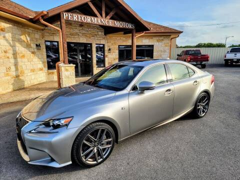 2016 Lexus IS 200t for sale at Performance Motors Killeen Second Chance in Killeen TX