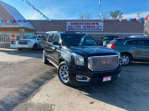2015 GMC Yukon XL for sale at Brothers Auto Group in Youngstown OH