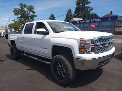 2015 Chevrolet Silverado 1500 for sale at All American Motors in Tacoma WA