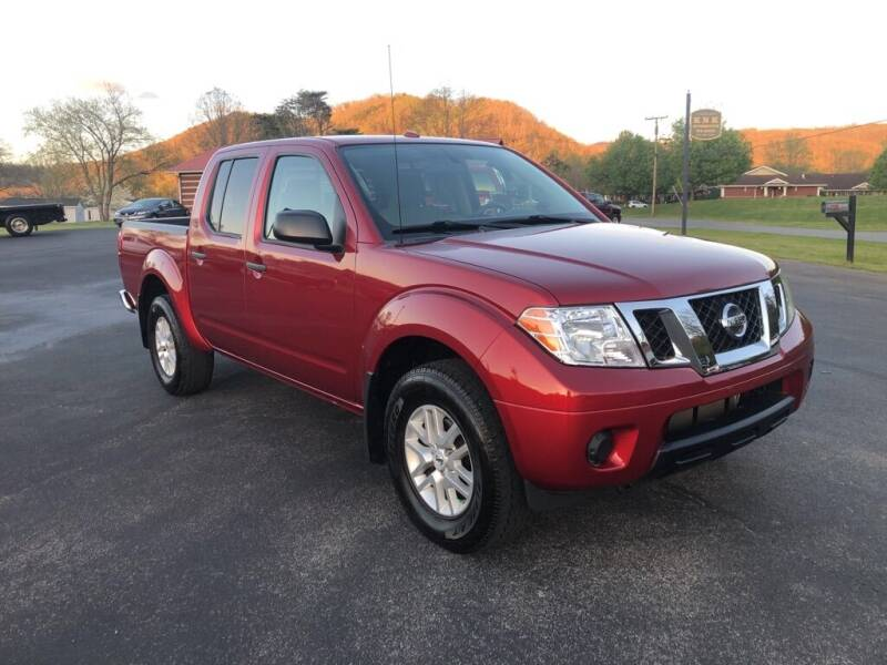 2017 Nissan Frontier for sale at KNK AUTOMOTIVE in Erwin TN