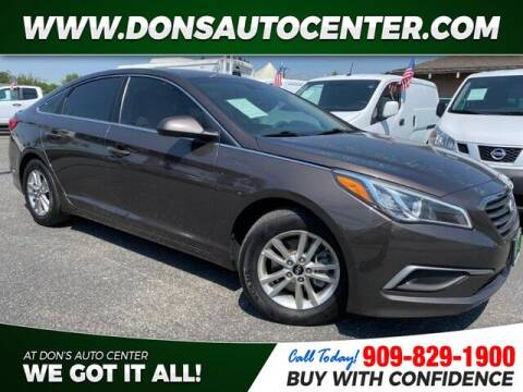 2017 Hyundai Sonata for sale at Dons Auto Center in Fontana CA