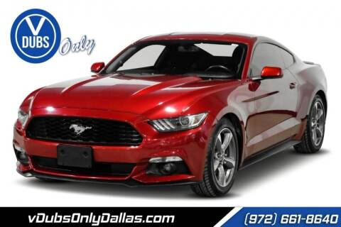 2016 Ford Mustang for sale at VDUBS ONLY in Dallas TX