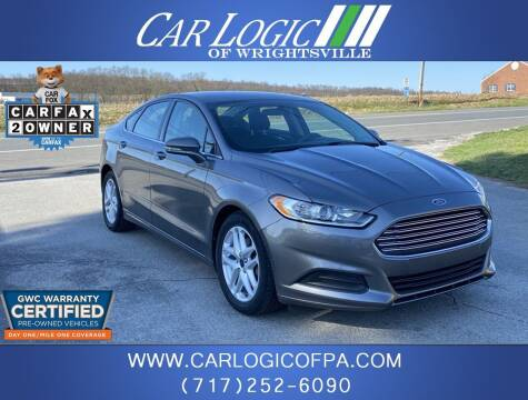 2014 Ford Fusion for sale at Car Logic in Wrightsville PA