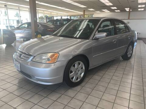 2001 Honda Civic for sale at PRICE TIME AUTO SALES in Sacramento CA