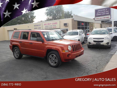2009 Jeep Patriot for sale at Gregory J Auto Sales in Roseville MI