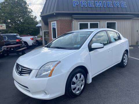2010 Nissan Sentra for sale at Premiere Auto Sales in Washington PA