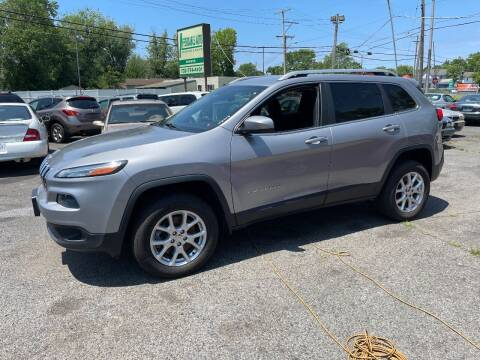 2015 Jeep Cherokee for sale at Affordable Auto Detailing & Sales in Neptune NJ