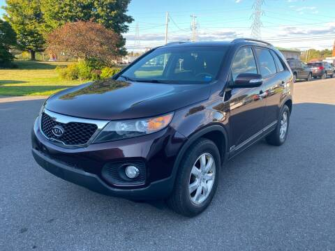 2011 Kia Sorento for sale at Paul Hiltbrand Auto Sales LTD in Cicero NY