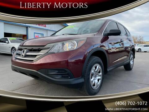 2014 Honda CR-V for sale at Liberty Motors in Billings MT