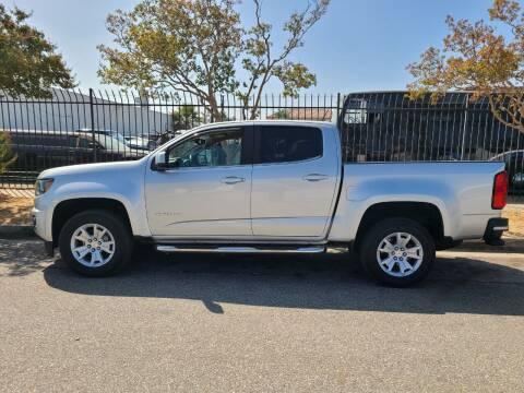2017 Chevrolet Colorado for sale at E and M Auto Sales in Bloomington CA