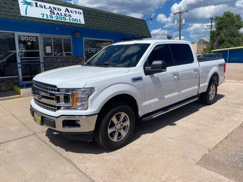 2018 Ford F-150 for sale at Island Auto Sales in Colorado Springs CO