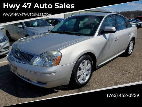 2007 Ford Five Hundred for sale at Hwy 47 Auto Sales in Saint Francis MN