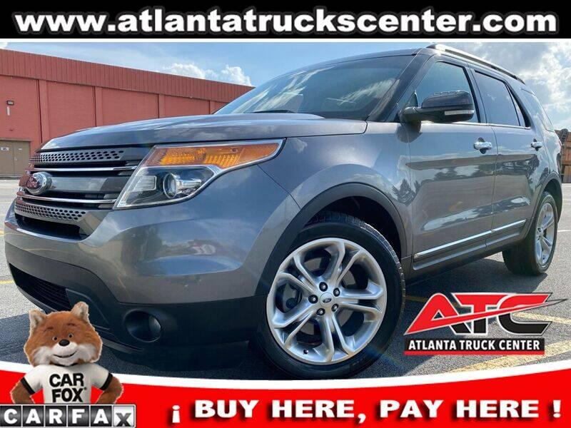 2014 Ford Explorer for sale at ATLANTA TRUCK CENTER LLC in Brookhaven GA