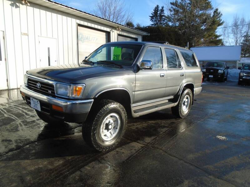 1995 Toyota 4Runner for sale at NORTHLAND AUTO SALES in Dale WI
