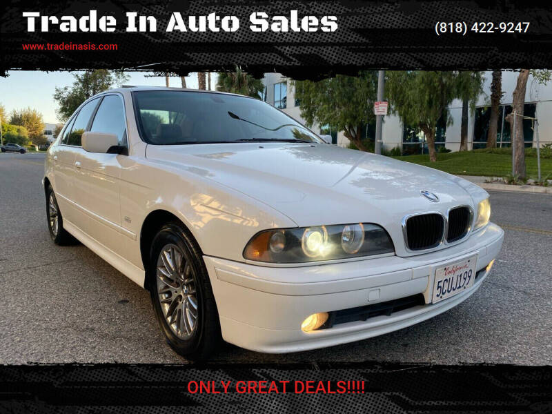 2003 BMW 5 Series for sale at Trade In Auto Sales in Van Nuys CA