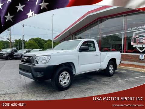 2014 Toyota Tacoma for sale at USA Motor Sport inc in Marlborough MA