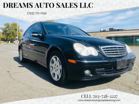 2006 Mercedes-Benz C-Class for sale at Dreams Auto Sales LLC in Leesburg VA