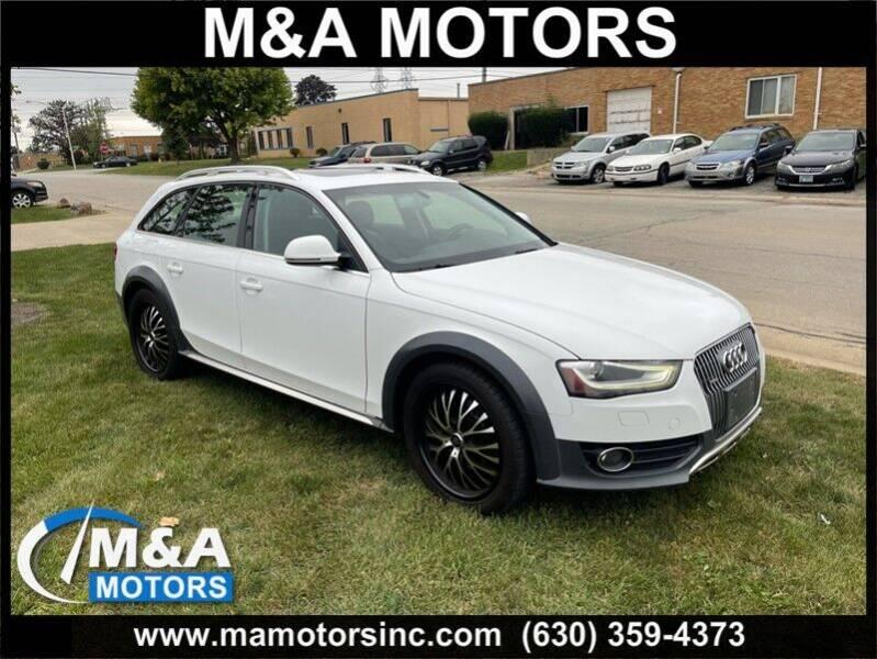 2013 Audi Allroad for sale at M & A Motors in Addison IL