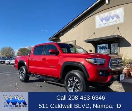2017 Toyota Tacoma for sale at Western Mountain Bus & Auto Sales in Nampa ID