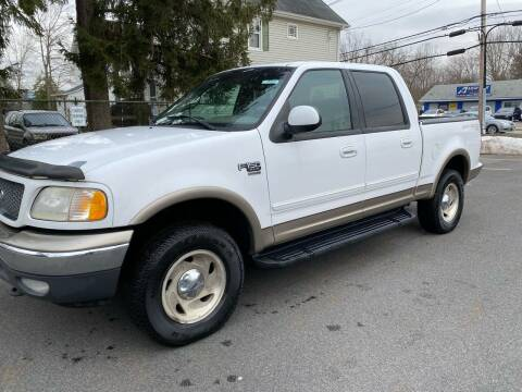 2001 Ford F-150 for sale at AMERI-CAR & TRUCK SALES INC in Haskell NJ