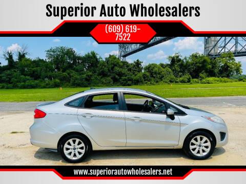2012 Ford Fiesta for sale at Superior Auto Wholesalers in Burlington NJ