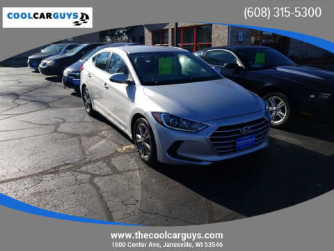 2018 Hyundai Elantra for sale at Cool Car Guys in Janesville WI