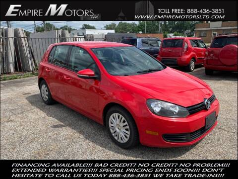 2012 Volkswagen Golf for sale at Empire Motors LTD in Cleveland OH