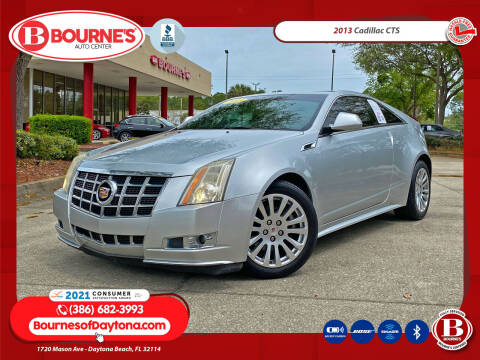 2013 Cadillac CTS for sale at Bourne's Auto Center in Daytona Beach FL