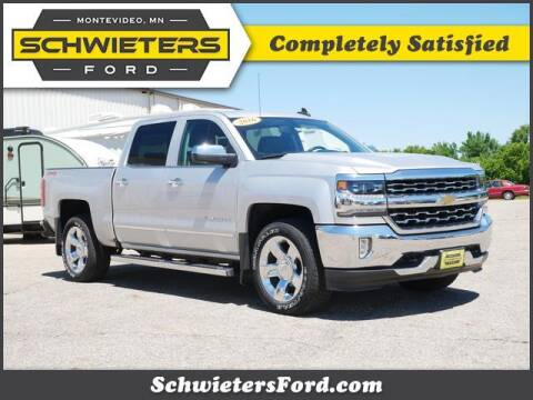 2016 Chevrolet Silverado 1500 for sale at Schwieters Ford of Montevideo in Montevideo MN