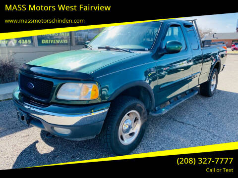 2000 Ford F-150 for sale at MASS Motors West Fairview in Boise ID