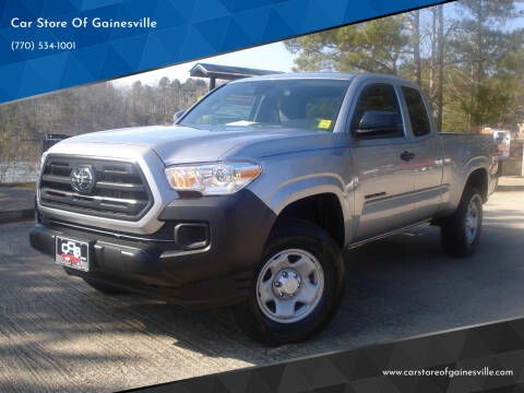 2019 Toyota Tacoma for sale at Car Store Of Gainesville in Oakwood GA