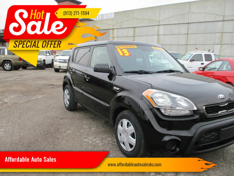 2013 Kia Soul for sale at Affordable Auto Sales in Olathe KS